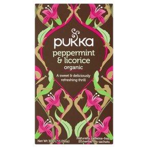 Pukka Peppermint & Licorice 20s