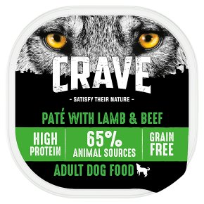Crave Dog Food with Lamb & Beef