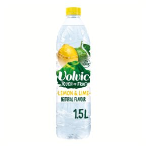 Volvic still touch of fruit lemon & lime