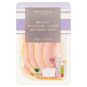 Waitrose British Wiltshire cured breaded ham