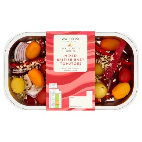 Waitrose Mixed British Baby Tomatoes