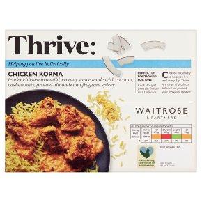 Waitrose Frozen mini chicken korma with pilau rice