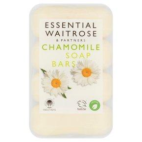essential Waitrose Chamomile Bar Soaps