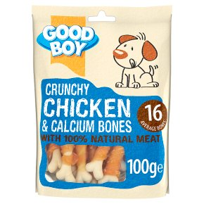 Good Boy Crunchy Chicken & Calcium Bones