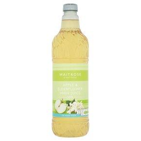 Waitrose Apple & Elderflower Juice Squash