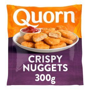 Quorn chicken style nuggets