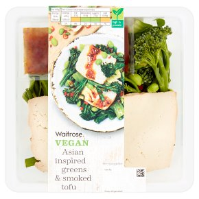 Waitrose Vegan Asian Greens & Smoked Tofu