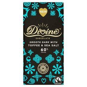 Divine Dark Chocolate Toffee & Sea Salt