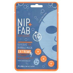 Nip+Fab Bubble Sheet Mask Extreme
