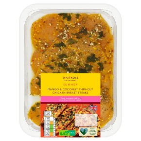 Waitrose Mango & Coconut Chicken Breast Steak