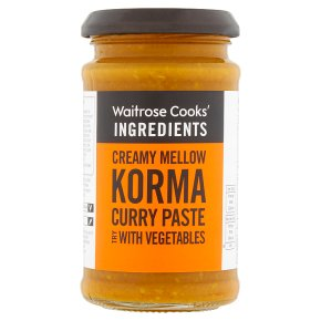 Waitrose korma curry paste