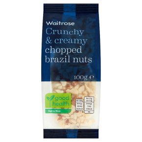 Waitrose Chopped Brazil Nuts