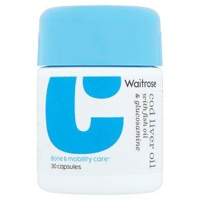 Waitrose Cod Liver Oil & Glucosamine