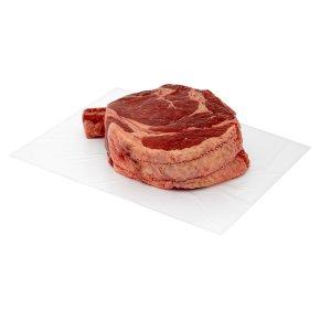 Waitrose 1 Dry Aged Aberdeen Angus Beef Bone-in Rib