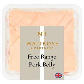 Waitrose No1 Free Range Pork Belly