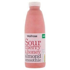 Waitrose Sour Cherry & Honey Almond Smoothie