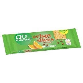 Go Ahead! Crispy Orange Slices