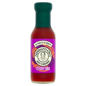 Newman's Own sticky BBQ marinade