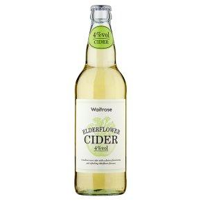 Waitrose Elderflower Cider