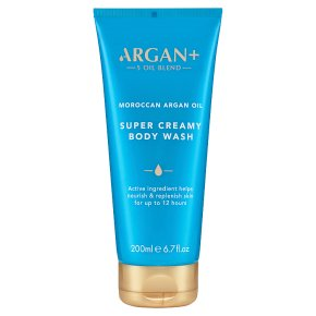 Argan + argan oil body wash