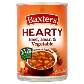 Baxters Hearty Beef, Bean & Vegetable Soup
