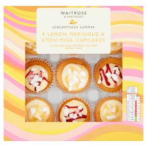 Waitrose Lemon Meringue & Eton Mess Cupcakes