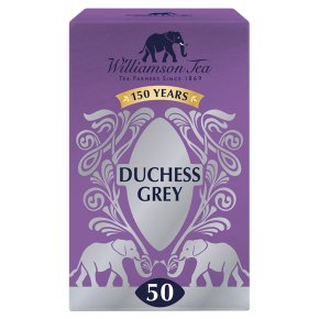 Williamson Tea Duchess Grey 50 Tea Bags