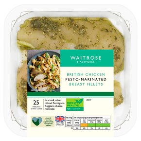 Waitrose British Chicken Pesto Breast Fillets