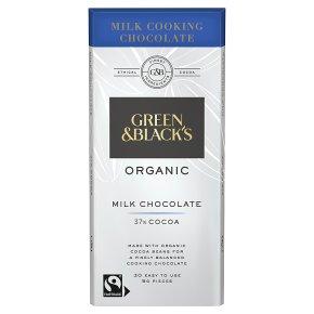 Green & Black's organic cooking chocolate milk