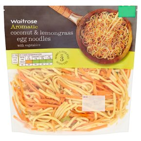 Waitrose Coconut & Lemongrass Egg Noodles