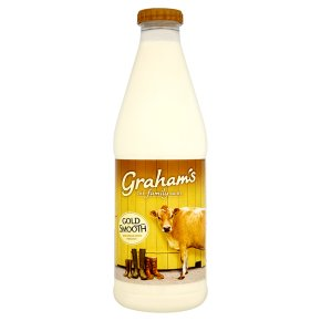 Graham's smooth gold full cream milk