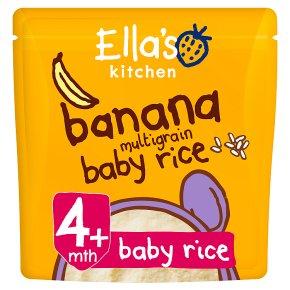 Ella's Banana Multigrain Baby Rice