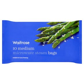 Waitrose Microwave Steam Bags Medium