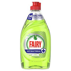 Fairy Antibacterial Lime & Lemongrass Washing Up Liquid