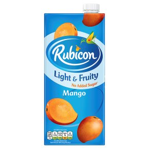 Rubicon Light & Fruity Mango