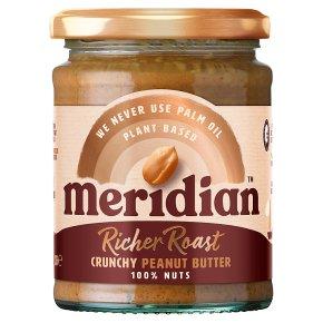 Meridian Rich Roast Crunchy Peanut Butter