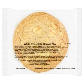 White Chocolate Cookie Belgian Choc Chunks