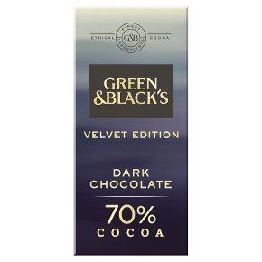 Green & Black's Velvet Edition Dark Chocolate 70%