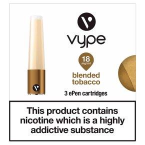 Vype Cartridges Blended Tobacco