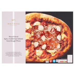 No.1 Spicy Calabrian Salami Sourdough Pizza