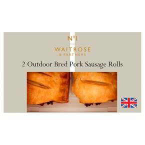 No.1 2 Outdoor Bred Pork Sausage Rolls