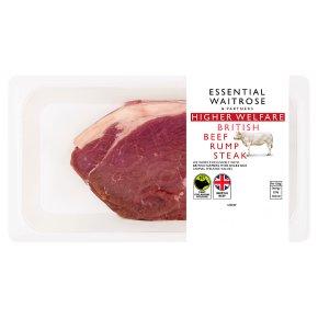 essential Waitrose British Beef Rump Steak