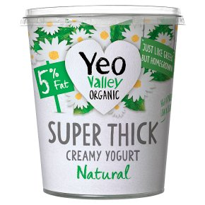Yeo Valley Super Thick Natural Kerned Yogurt