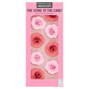 Waitrose Cooks' Ingredients large sugar rose decoration