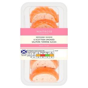 Waitrose Smoked Salmon Terrine Slices