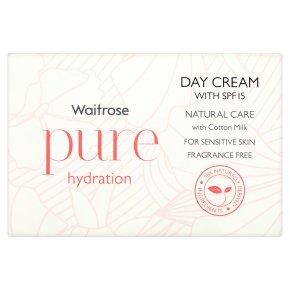 Waitrose Pure SPF15 Hydration Day Cream