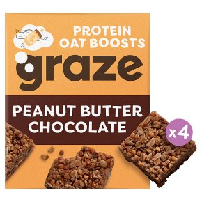 Graze Peanut Butter & Chocolate Protein Oat Bites