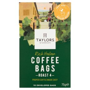 Taylors Rich Italian Coffee Bags