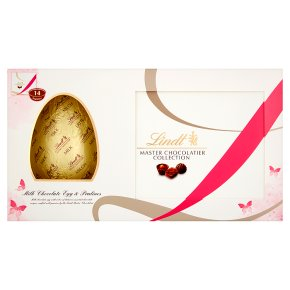 Lindt Milk Chocolate Egg With Pralines