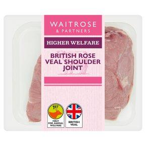 Waitrose 1 British veal shoulder joint